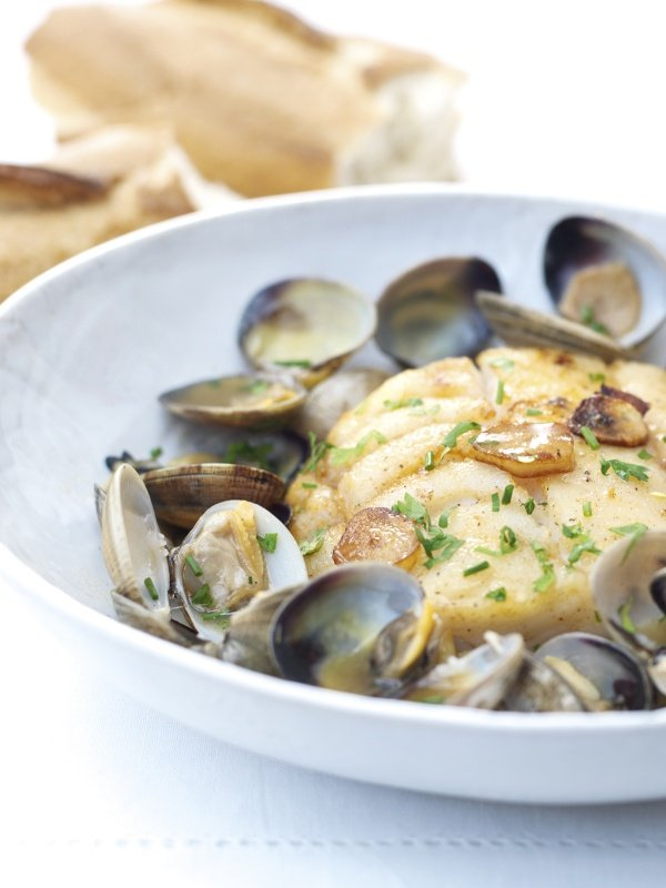 Cod With Clams