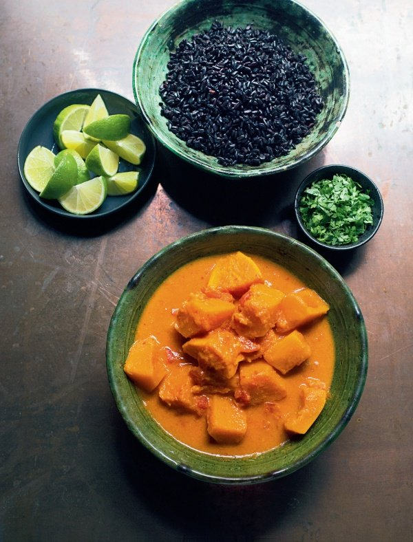 Image of Nigella's Butternut and Sweet Potato Curry