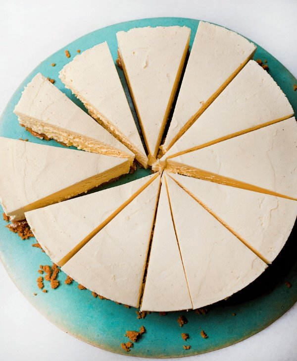 Image of Nigella's White Chocolate Cheesecake
