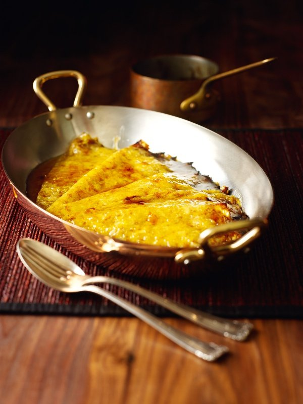 Recipe crepes suzette flambe