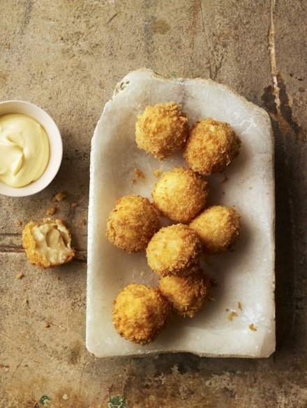 Image of Dhruv Baker's Cheese and Cumin Croquettes