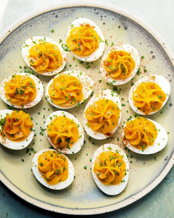 Image of Nigella's Devilled Eggs