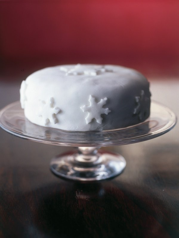 Easy-Action Christmas Cake