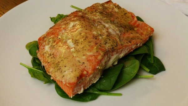 Salmon With Mustard Honey Glaze | Community Recipes ...
