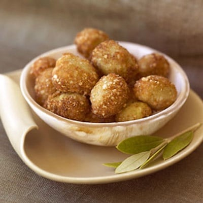 Fried Green Olives in a Crunchy Batter