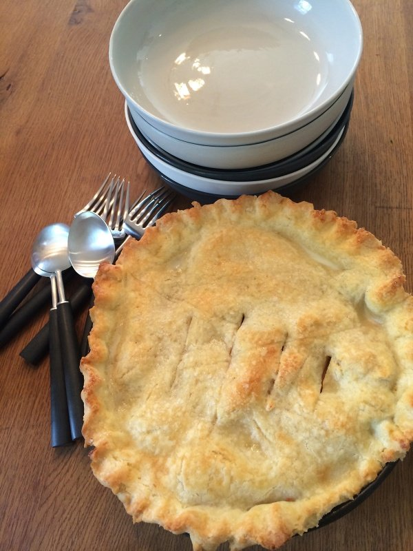 Gluten-Free Apple and Blackberry Pie