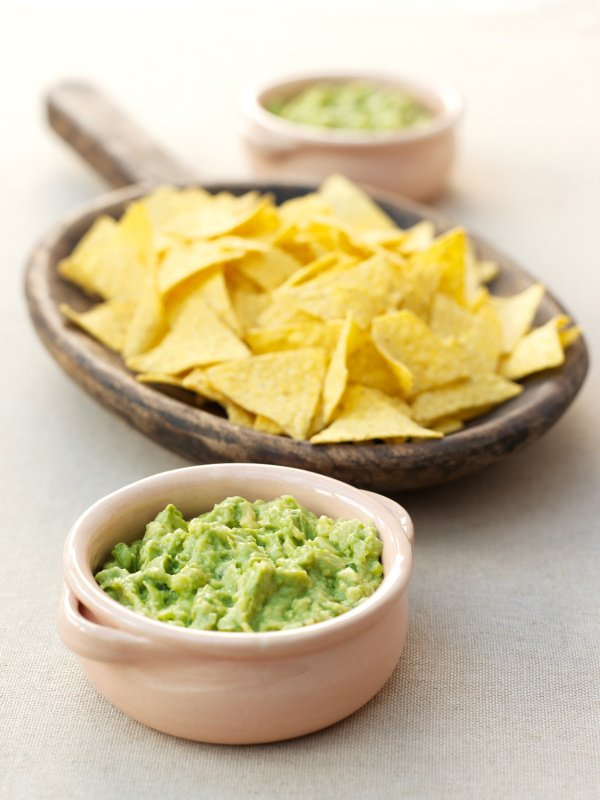 Image of Nigella's Guacamole with Tortilla Chips