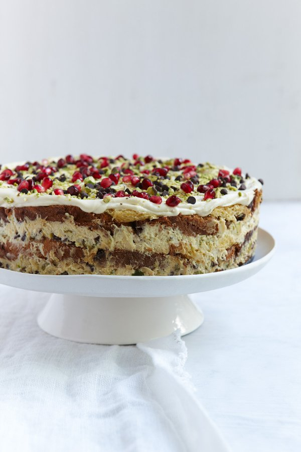 Christmas Dessert Recipes.Italian Christmas Pudding Cake