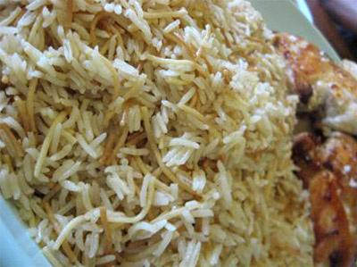 Lebanese Rice (Riiz Bi Sh'arieh)