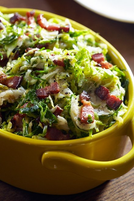 Image of Marcus Samuelsson's Hot Brussels Sprouts Slaw