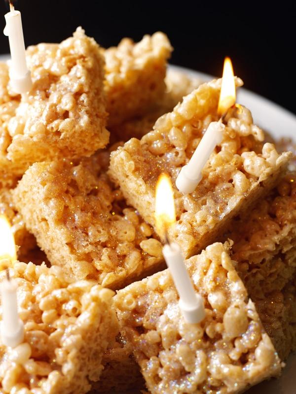 Recipe For Sticky Rice Crispy Cakes