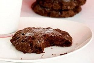 Monster Chocolate Crackle Cookies