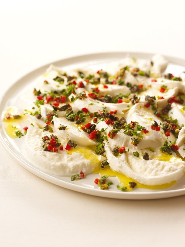 Mozzarella With Crazy Gremolata