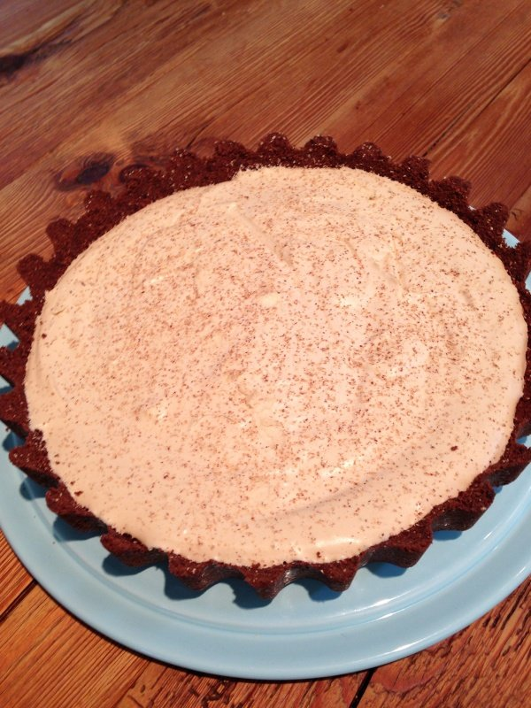 My Brandy Alexander Pie