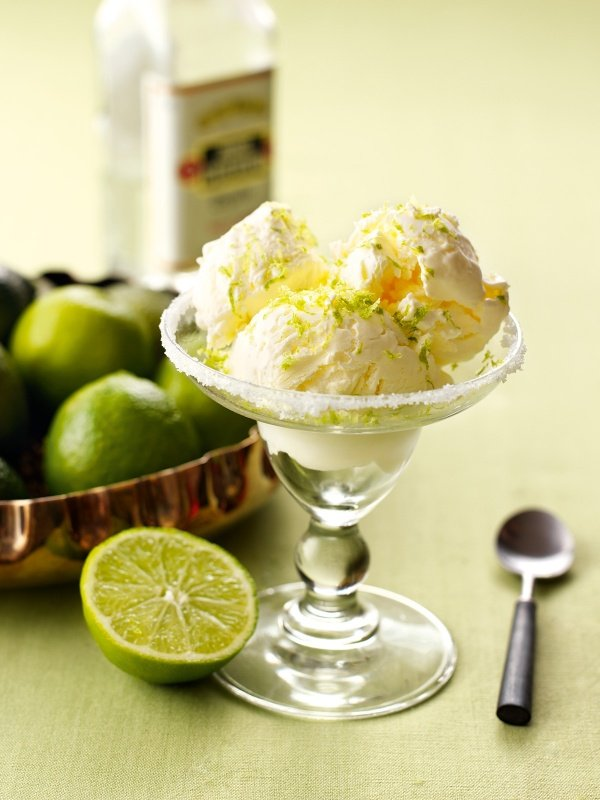 No-Churn Margarita Ice Cream