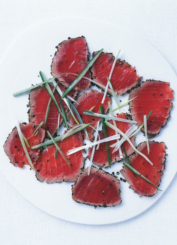 Pepper-Seared Tuna