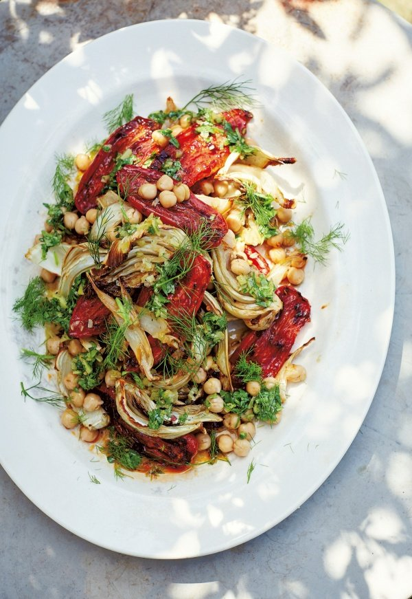 Image of Diana Henry's Roasted Tomatoes and Fennel Salad