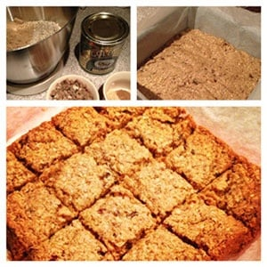 Spiced Date Flapjack