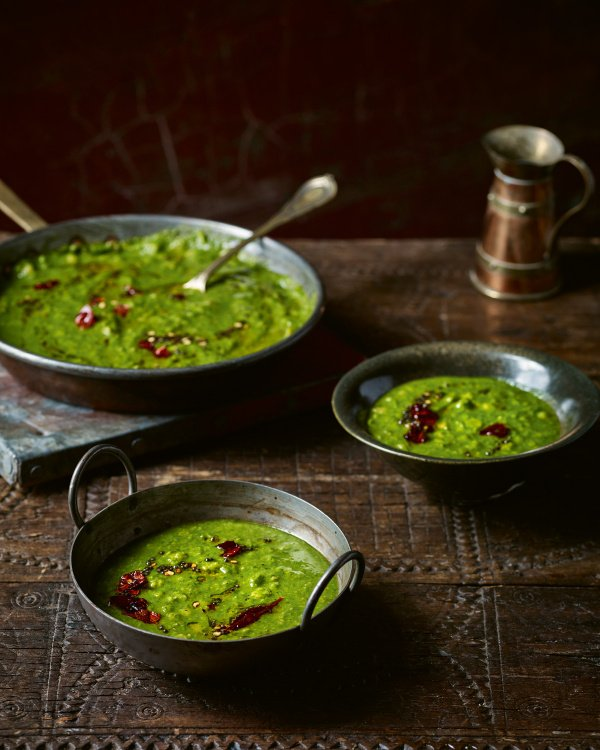 Image of Chetna Makan's Spinach and Coconut Dahl