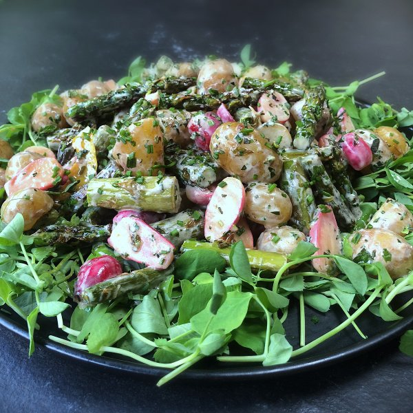 Image of Nigella's Spring Potato Salad