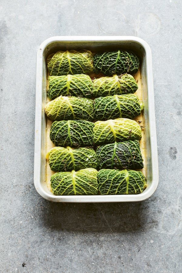 Stuffed Savoy Cabbage Leaves Guest Recipes Nigella S Recipes Nigella Lawson