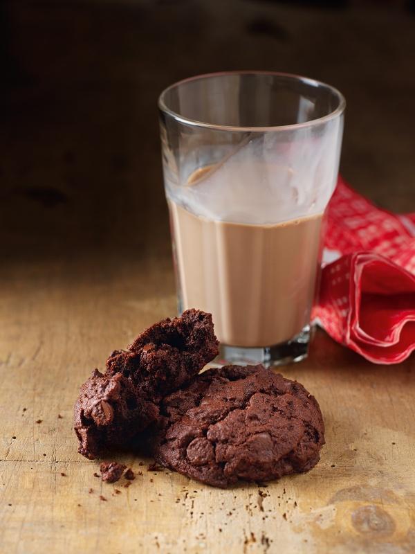 Schoko cookies rezept nigella