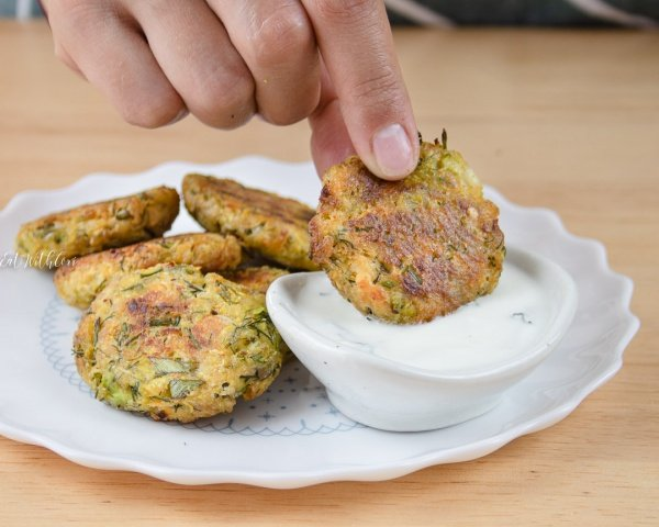 Easy Zucchini Fritters (in the oven)