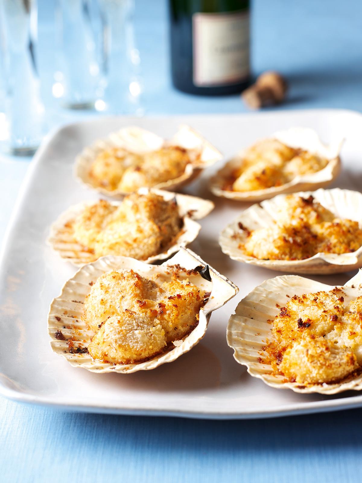 scallops on the shell  nigella's recipes  nigella lawson
