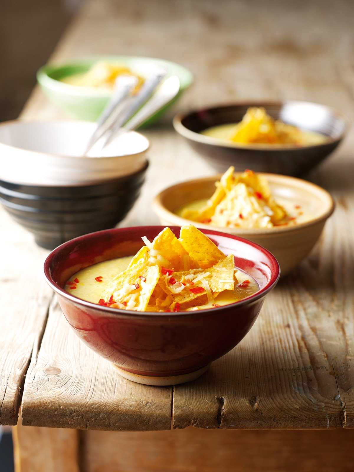 Sweetcorn Chowder With Toasted Tortillas | Nigella's ...